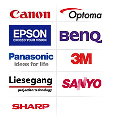 sales repair and servcing of Canon, optoma, epson, benq, panasonic